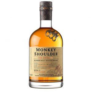 Monkey Shoulders Whiskey, whisky, Bottleshop Sunny wines slnecnice mesto, petrzalka, rozvoz alkoholu, eshop, Petrzalka Bratislava Slnecnice