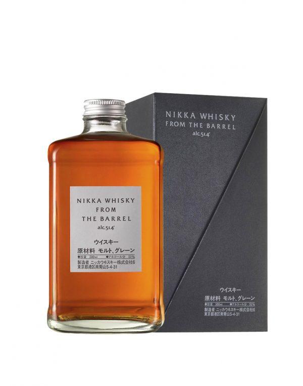 Nikka Whisky From The Barrel v kartóne 0,5L 51,40% whiskey, Bottleshop Sunny wines slnecnice mesto, petrzalka, rozvoz alkoholu, eshop, Petrzalka Bratislava Slnecnice