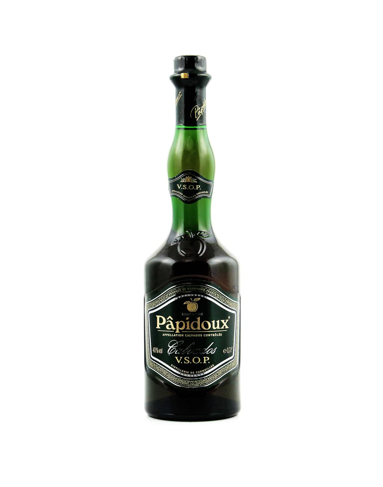 Papidoux calvados VSOP 0,7L 40% destiláty calvados, Bottleshop Sunny wines slnecnice mesto, petrzalka, destiláty, rozvoz alkoholu, eshop