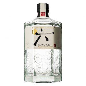 Roku japanese craft gin 0,7L 43% gin, Bottleshop Sunny wines slnecnice mesto, petrzalka, Gin, rozvoz alkoholu, eshop, Bratislava Petrzalka Slnecnice
