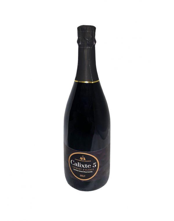 Hunawihr Calixte 5 brut, Francúzsko, Bublinky, bublinkové víno z francúzska vinotéka Bratislava Petržalka Slnecnice, Poprad, Sunnywines, rozvoz vina, winebar
