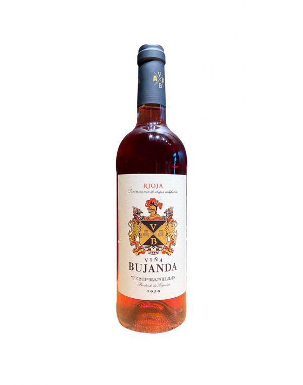 Bujanda - Rosé - Španielsko - Ružové víno zo Španielska, vinotéka Sunny wines Slnečnice Bratislava Petržalka, rozvoz vín